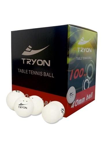 Tryon Tryon Mtt90 100'lü Masa Tenisi Topu Beyaz